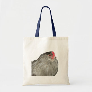 Gorgeous Lavender Ameraucana Rare Breed Rooster Tote Bags