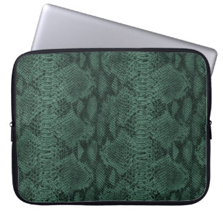 Gorgeous Leather Texture Snake Skin Laptop Computer Sleeves