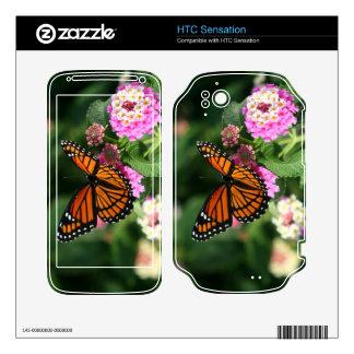 Gorgeous Monarch Butterfly HTC Sensation Skin