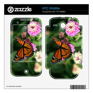 Gorgeous Monarch Butterfly HTC Wildfire Skin