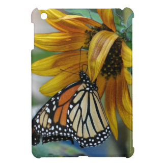 Gorgeous Monarch Butterfly on Sunflower iPad Mini Cover