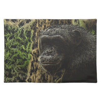 Gorgeous Monkey Art Cloth Placemat