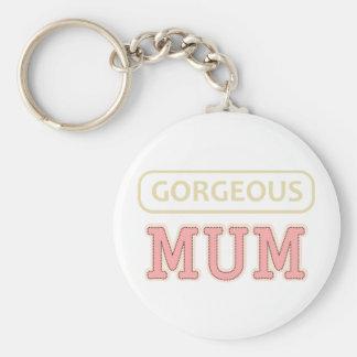 Gorgeous Mum Keychain