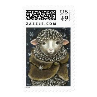Gorgeous nanny stamp
