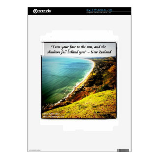 Gorgeous New Zealand And Famous Proverb iPad 2 Skins