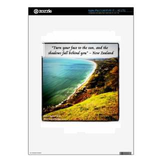 Gorgeous New Zealand And Famous Proverb Skins For iPad 3