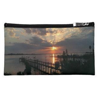 Gorgeous Ocean Inlet Cosmetic Bag