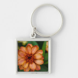 Gorgeous Orange Flower in Central Park Keychain