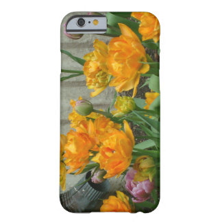 Gorgeous Orange Tulips By Waterspout Phone Case