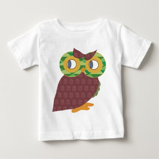 Gorgeous owl design baby T-Shirt