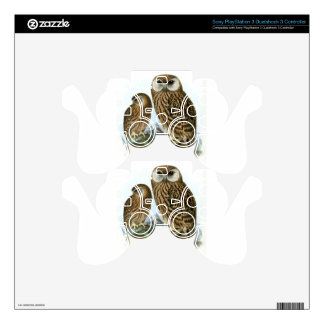 GORGEOUS OWL EYES DECAL FOR PS3 CONTROLLER