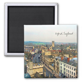 Gorgeous Oxford, England, High Street, The High #1 2 Inch Square Magnet