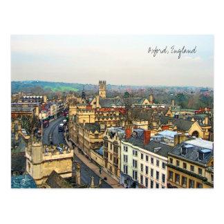 Gorgeous Oxford, England, High Street, The High #1 Postcard