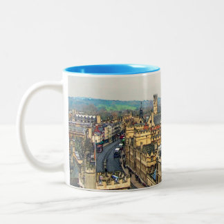 Gorgeous Oxford, England, High Street, The High #1 Two-Tone Coffee Mug