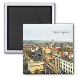 Gorgeous Oxford, England, High Street, The High #2 2 Inch Square Magnet