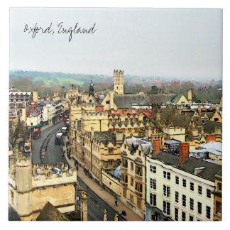 Gorgeous Oxford, England, High Street, The High #2 Ceramic Tile