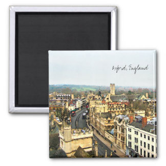 Gorgeous Oxford, England, High Street, The High #2 Magnet