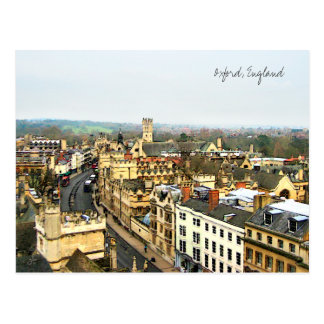 Gorgeous Oxford, England, High Street, The High #2 Postcard