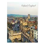 Gorgeous Oxford, England, High Street, The High #3 Postcard