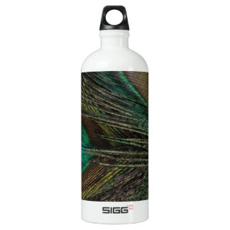 Gorgeous Peacock Feather Water Bottle