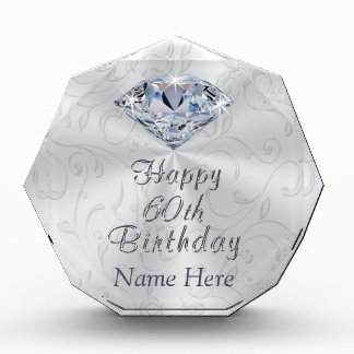 Gorgeous Personalized 60th Birthday Gifts for Her