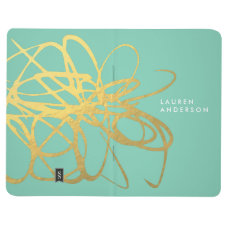 Gorgeous Personalized Custom Journal Notebook