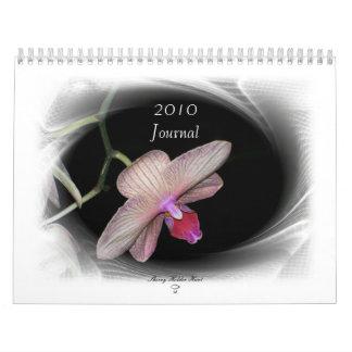 Gorgeous Petals-2009 Journal Calendar