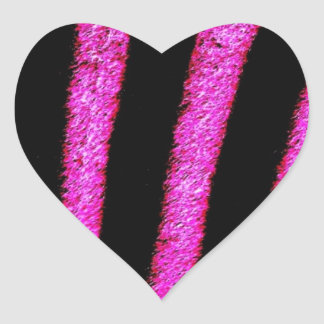 GORGEOUS PINK DREAMS HEART STICKER