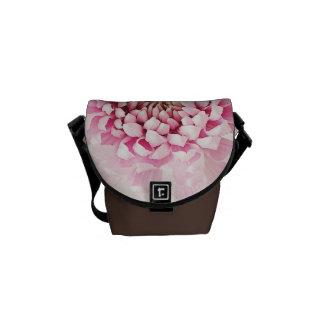 Gorgeous Pink flower design messenger bag