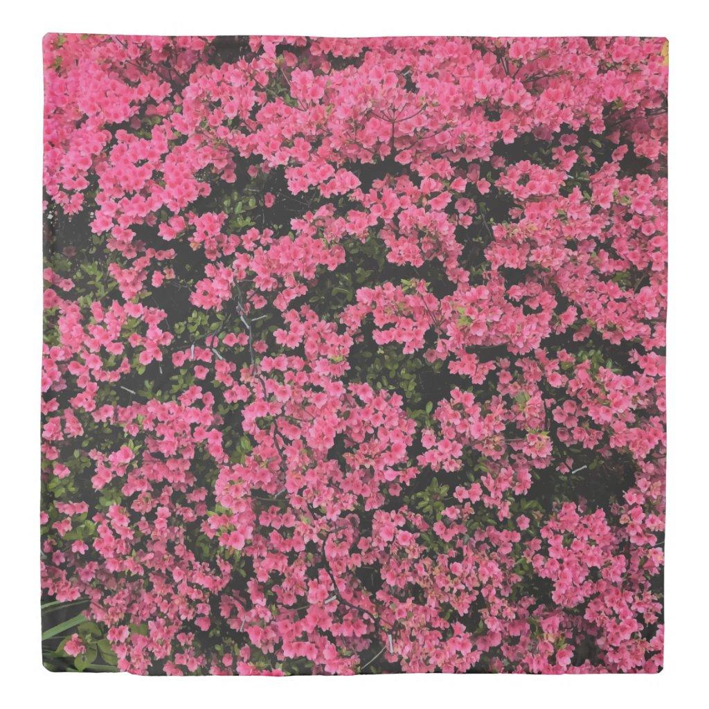 Gorgeous Pink Nature Photo Print Design Duvet Cover