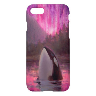 Gorgeous Pink Orca Custom Killer Whale iPhone 7 iPhone 8/7 Case