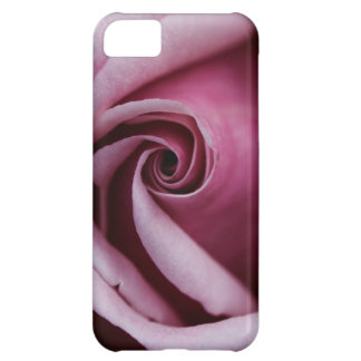 Gorgeous Pink Rose Close Up Photo Cover For iPhone 5C