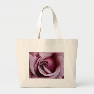 Gorgeous Pink Rose Close Up Photo Large Tote Bag