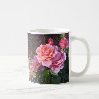 Gorgeous Pink Roses! Classic White Coffee Mug