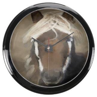 Gorgeous Pony Fish Tank Clocks