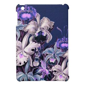 Gorgeous Purple Blue Vintage Flowers iPad Mini Covers