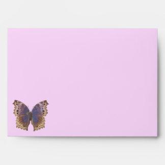 Gorgeous Purple Butterfly Envelopes