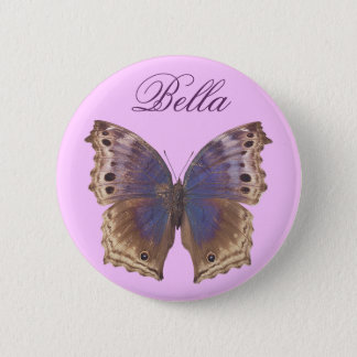 Gorgeous Purple Butterfly Pinback Button