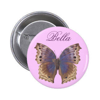 Gorgeous Purple Butterfly Pinback Button