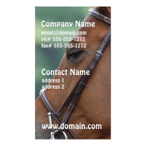 Gorgeous Quarter Horse Business Card Template