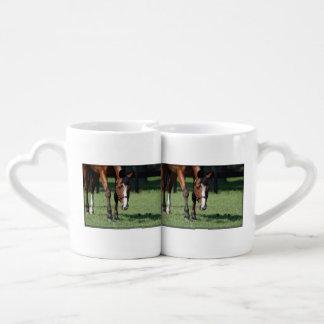 Gorgeous Quarter Horse Coffee Mug Set