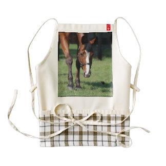 Gorgeous Quarter Horse Zazzle HEART Apron
