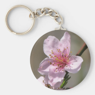Gorgeous  Raspberry Bloom Keychain
