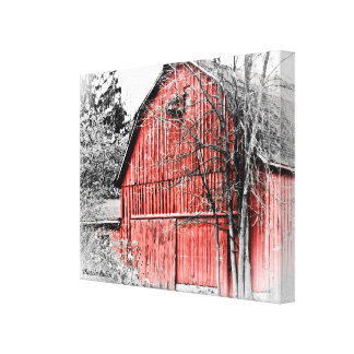 Gorgeous Red Barn Canvas Print