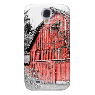 Gorgeous Red Barn Galaxy S4 Cover