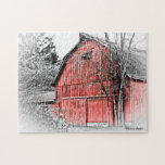 Gorgeous Red Barn Jigsaw Puzzles