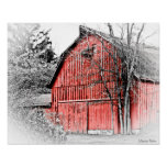 Gorgeous Red Barn Poster