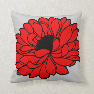 GORGEOUS RED FLOWER American MoJo Pillow
