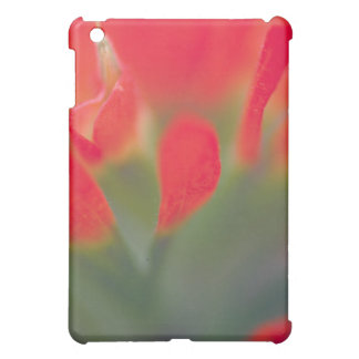 Gorgeous red flower ipad case