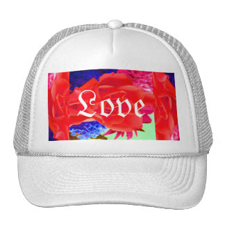 Gorgeous Red Red Rose I Trucker Hat
